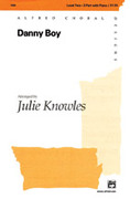 Cover icon of Danny Boy sheet music for choir (2-Part) by Anonymous and Julie Knowles