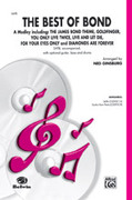 Cover icon of The Best of Bond (A Medley) sheet music for choir (SATB) by Anonymous and Ned Ginsburg