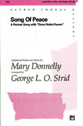 Cover icon of Song of Peace (Dona Nobis Pacem) sheet music for choir (2-Part) by Mary Donnelly and George L.O. Strid