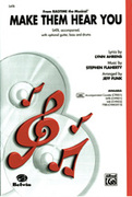 Cover icon of Make Them Hear You (from Ragtime The Musicalu) sheet music for choir (SATB: soprano, alto, tenor, bass) by Stephen Flaherty, Lynn Ahrens and Jeff Funk, intermediate