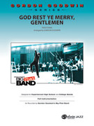 Cover icon of God Rest Ye Merry Gentlemen sheet music for jazz band (full score) by Anonymous and Gordon Goodwin