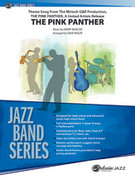 Cover icon of The Pink Panther sheet music for jazz band (full score) by Henry Mancini and Dave Wolpe, intermediate jazz band (full score)