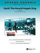 Cover icon of Hark! The Herald Angels Sing (COMPLETE) sheet music for jazz band by Anonymous and Gordon Goodwin, intermediate