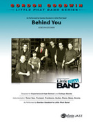 Cover icon of Behind You (COMPLETE) sheet music for jazz band by Gordon Goodwin