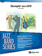 Cover icon of Stompin' on a Riff sheet music for jazz band (full score) by David Berger