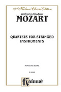 Cover icon of String Quartets (COMPLETE) sheet music for string quartet by Wolfgang Amadeus Mozart