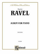 Cover icon of Album (COMPLETE) sheet music for piano solo by Maurice Ravel, classical score, intermediate