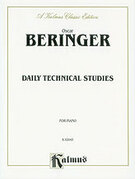 Cover icon of Daily Technical Studies for Piano (COMPLETE) sheet music for piano solo by Oscar Beringer