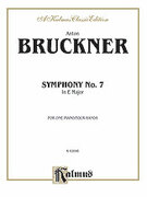 Cover icon of Symphony No. 7 in E Major (COMPLETE) sheet music for piano four hands by Anton Bruckner