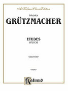 Cover icon of Etudes, Op. 38 (COMPLETE) sheet music for cello by Friedrich Grutzmacher, classical score, intermediate cello