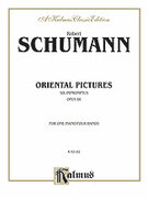 Cover icon of Oriental Pictures (COMPLETE) sheet music for piano four hands by Robert Schumann