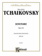 Cover icon of Serenade, Op. 48 (COMPLETE) sheet music for piano four hands by Pyotr Ilyich Tchaikovsky and Pyotr Ilyich Tchaikovsky