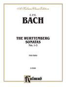 Cover icon of The Wurttenburg Sonatas, Volume I, Nos. 1-3 (COMPLETE) sheet music for piano solo by Carl Philip Emanuel Bach and Carl Philip Emanuel Bach, classical score, intermediate piano