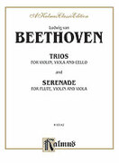 Cover icon of String Trio Compilations (COMPLETE) sheet music for string trio by Ludwig van Beethoven