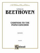 Cover icon of Cadenzas to the Piano Concerti (COMPLETE) sheet music for piano solo by Ludwig van Beethoven
