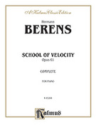 Cover icon of School of Velocity, Op. 61 (COMPLETE) sheet music for piano solo by Hermann Berens