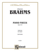 Cover icon of Intermezzi, Ballade, Romance, Op. 118 (COMPLETE) sheet music for piano solo by Johannes Brahms, classical score, intermediate