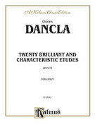 Cover icon of Twenty Brilliant and Characteristic Etudes, Op. 73 (COMPLETE) sheet music for violin by Jean C. Dancla