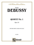 Cover icon of String Quartet, Op. 10 (COMPLETE) sheet music for piano solo by Claude Debussy