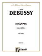 Cover icon of Estampes (COMPLETE) sheet music for piano solo by Claude Debussy, classical score, intermediate