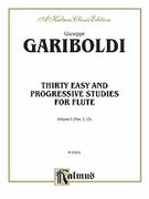 Thirty Easy and Progressive Studies, Volume I (COMPLETE) for flute - flute etude sheet music