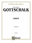 Cover icon of Album (COMPLETE) sheet music for piano solo by Louis Moreau Gottschalk