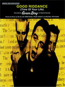 Cover icon of Good Riddance (Time of Your Life) sheet music for piano, voice or other instruments by Green Day
