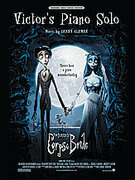 Cover icon of Victor's Piano Solo (from Corpse Bride) sheet music for piano, voice or other instruments by Danny Elfman, easy/intermediate