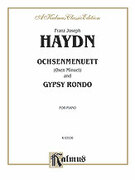 Cover icon of Oxen Minuet and Gypsy Rondo (COMPLETE) sheet music for piano solo by Franz Joseph Haydn