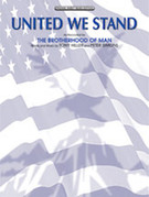 Cover icon of United We Stand sheet music for piano, voice or other instruments by The Brotherhood of Man, easy/intermediate piano, voice or other instruments