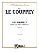 Cover icon of The Alphabet (COMPLETE) sheet music for piano solo by Felix Le Couppey
