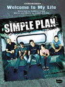 Cover icon of Welcome to My Life sheet music for piano, voice or other instruments by Simple Plan