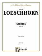 Cover icon of Studies, Op. 65 (COMPLETE) sheet music for piano solo by Albert Loeschorn, classical score, intermediate
