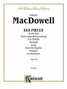 Cover icon of Sea Pieces (COMPLETE) sheet music for piano solo by Edward MacDowell, classical score, intermediate
