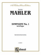 Cover icon of Symphony No. 1, in D Major (COMPLETE) sheet music for piano four hands by Gustav Mahler