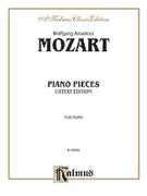 Cover icon of Various Piano Pieces (COMPLETE) sheet music for piano solo by Wolfgang Amadeus Mozart