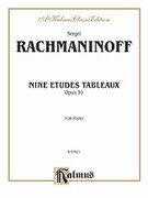 Cover icon of Etudes Tableaux, Op. 39 (COMPLETE) sheet music for piano solo by Serjeij Rachmaninoff