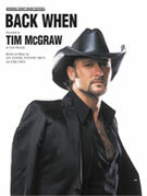 Cover icon of Back When sheet music for piano, voice or other instruments by Tim McGraw