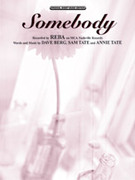 Cover icon of Somebody sheet music for piano, voice or other instruments by Reba McEntire