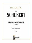 Cover icon of Original Compositions for Four Hands, Volume II (COMPLETE) sheet music for piano four hands by Franz Schubert, classical score, easy/intermediate