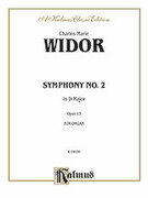 Cover icon of Symphony No. 2 in D Major, Op. 13 (COMPLETE) sheet music for organ solo by Charles Marie Widor and Charles Marie Widor