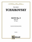 Cover icon of Suite No. 2 in C Major, Op. 53 (COMPLETE) sheet music for piano four hands by Pyotr Ilyich Tchaikovsky