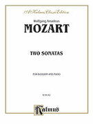 Cover icon of Two Sonatas (COMPLETE) sheet music for Bassoon and Piano by Wolfgang Amadeus Mozart