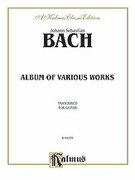 Cover icon of Album of Various Works Transcribed for Guitar (COMPLETE) sheet music for guitar solo by Johann Sebastian Bach, classical score, intermediate guitar