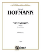 Cover icon of First Studies, Op. 86 (COMPLETE) sheet music for viola by Richard Hofmann, classical score, intermediate skill level