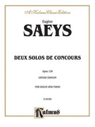 Cover icon of Deux Solos de Concours, Op. 130 (COMPLETE) sheet music for violin and piano by Henry Wieniawski