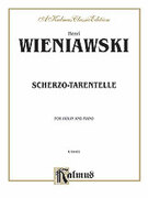 Cover icon of Scherzo-Tarentelle, Op. 16 (COMPLETE) sheet music for violin and piano by Henry Wieniawski