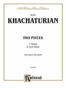 Cover icon of Two Pieces (COMPLETE) sheet music for violin and piano by Aram Khachaturian