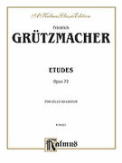 Cover icon of Etudes, Op. 72 (COMPLETE) sheet music for cello by Friedrich Grutzmacher