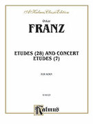 Cover icon of Etudes and Concert Etudes (COMPLETE) sheet music for horn by Oskar Franz